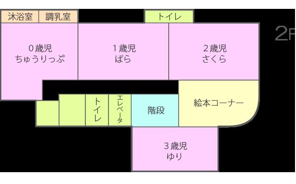 2F 配置図