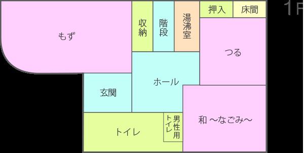 1F 配置図